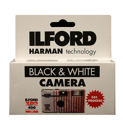 Ilford XP2 Disposable Camera with Flash