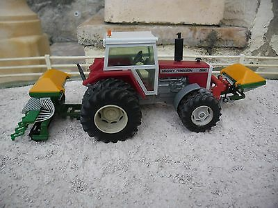 Britains Farm SPECIAL Phuematic Seed Drill/Cumbler Combo + F/Hopper (1/32 Scale)