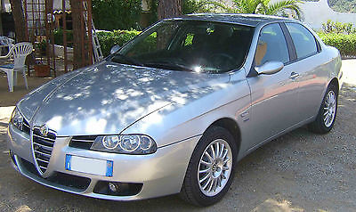 Alfa Romeo -alfa 156 giugiaro limited editition rifiniture e sedili in pelle