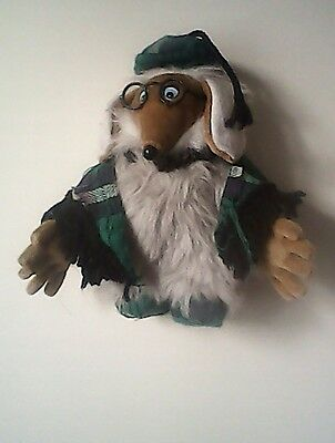 """WOMBLES UNCLE BULGARIA SOFT TOY by First Love 10"""" (25cm) high"""