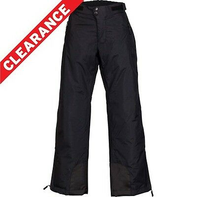 Outdoor Expedition Slopes Snow Pants - Black/Boys, 8