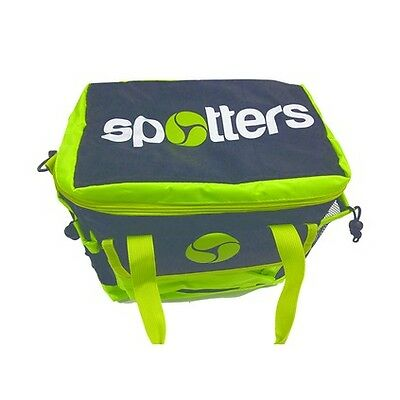 Spotters Cooler Bag with Stubby Cooler - Black Green