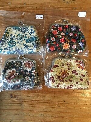 Set Of Four Coin Purses