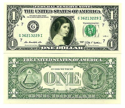 STAR WARS PRINCESSE LEIA - VRAI BILLET 1 DOLLAR US ! Collection JEDI Skywalker 7