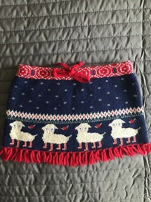Oilily Cashmere Blend Skirt Age 18month 80 Cm