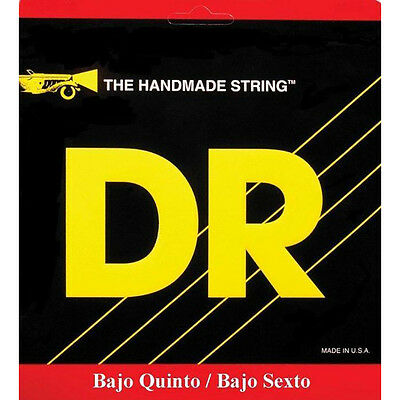 DR Strings BQ-10 Hi-Beam Stainless Steel Bajo Quinto Bass Round Wound Set
