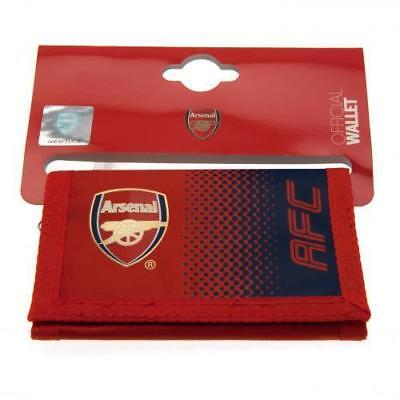 Arsenal Football Club Official Licensed Nylon Wallet Money Gift New