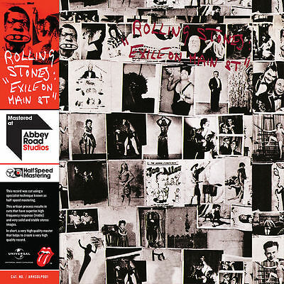 Rolling Stones ~ Exile On Main Street ~ 2 X Half-Speed Mastered Vinyl Lp ~ *new*