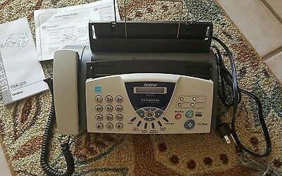 Brother Fax-575 Personal Fax Machine & Copier