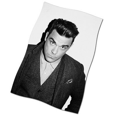 """Robbie Williams Flag Banner 29"""" NEW Love My Life Angels Feel"""
