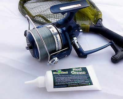 Fishing Reel Grease - Special lubricating formulation with PTFE prolongs gears