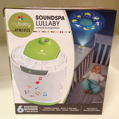 myBaby Soundspa Lullaby Sound Machine and Projector MYB S300