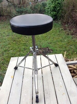 Free P&P. Generic Drum Stool for Drum Kit.