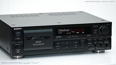 SONY TC-K890ES HighEnd ES Cassette Tape Deck Top-Zustand! Revidiert+1j.Garantie!