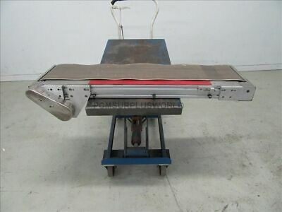 """Flat Belt Conveyor 10.25"""" X 46.5"""" ( Used and Tested )"""