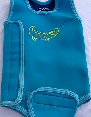 Mothercare Baby wet suit / swimming costume Blue 6-12 months