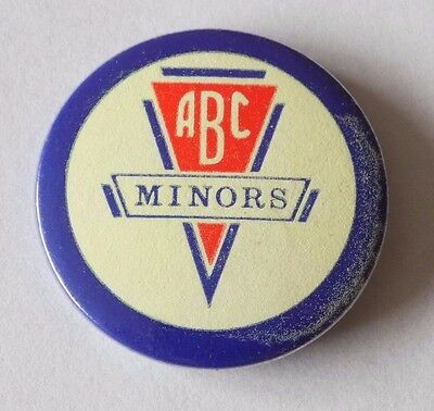 ABC Minors Cinema Button Badge