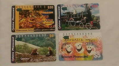 Rare Collectable Phonecards - Australia