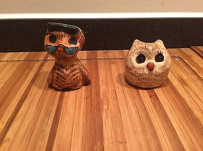 Philip Laureston Miniature Owls x 2