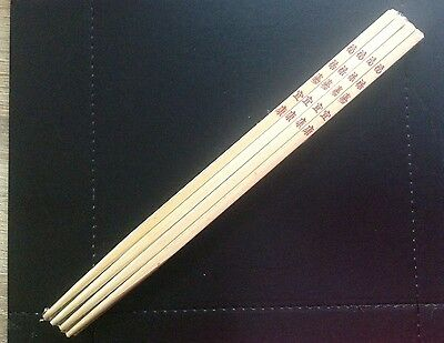 Chopsticks, Pack Of 4, Wrapped, New