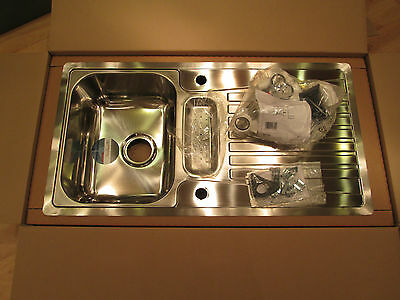 Stainless Steel Kitchen Sink with Shallow Drainer