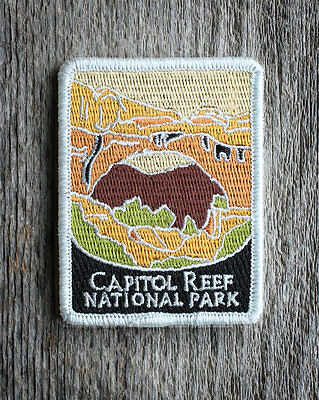 Capitol Reef National Park Souvenir Patch Traveler Series Iron-on Utah