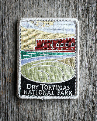 Dry Tortugas National Park Souvenir Patch Traveler Series Iron-on Florida