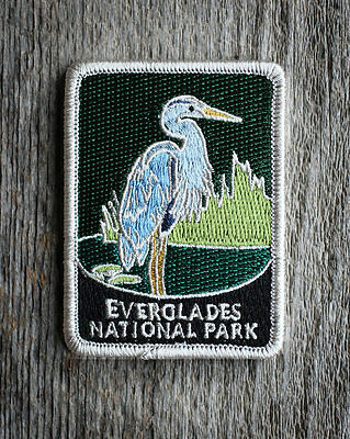 Everglades National Park Souvenir Patch Traveler Series Iron-on Florida