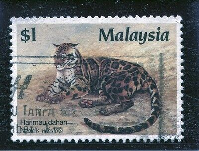 """Malaysia - Sg. 386 :  1987 """"  $1.00  Protected  Species  """" ."""