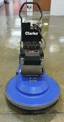 "Used Clarke N7BBCDG 27"" Propane Floor Buffer/Burnisher 08993A"