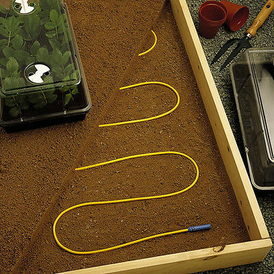 Parasene 3M Soil Warming Heating Cable Growbed Greenhouse Propagator Propagate