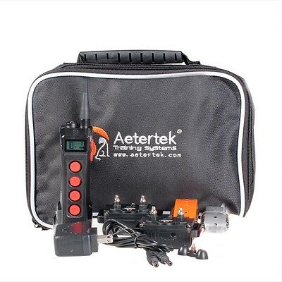 Aeteretk AT-919C Remote Waterproof Rechargable Dog Training Shock E-Collar