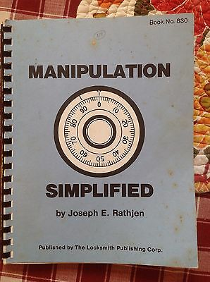 Safe Manipulation Safe Opening Locks Safes Security Manual Locksmith Guide To