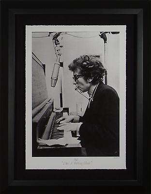 """Bob Dylan """"Like a Rolling Stone"""" Photograph Framed Dispay"""
