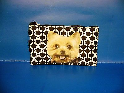 Dog Puppy Pet Yorkshire Terrier Coin Bag Purse BAG327 NEW