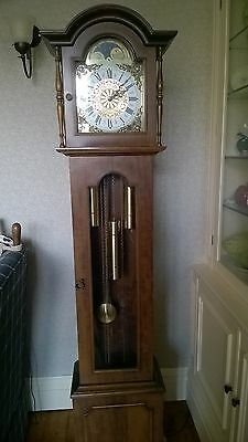Grandfather Clock,  8 day driven with Westminster chimes and a  moon phase dial
