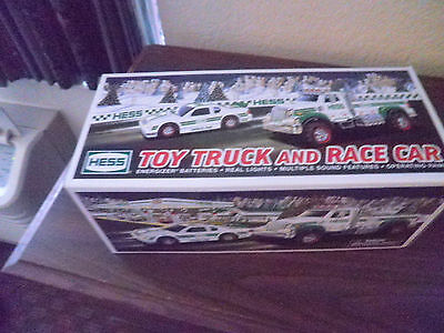 2011 Hess Toy Truck and Race Car New in Box Free Shipping