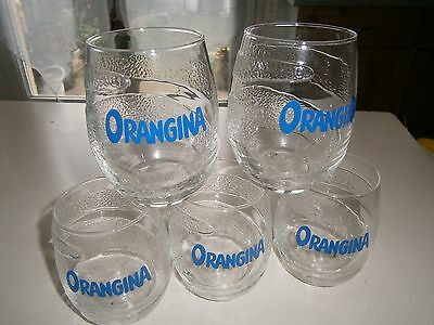 Lot De 5 Verres Orangina