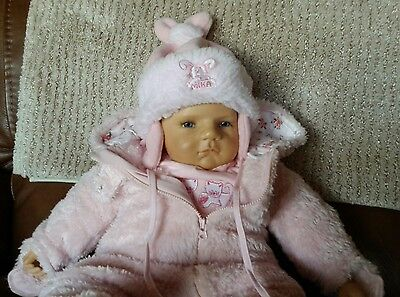 "OOAK Els Oostema ""Romeo"" Polymer Clay Baby 22 inches"