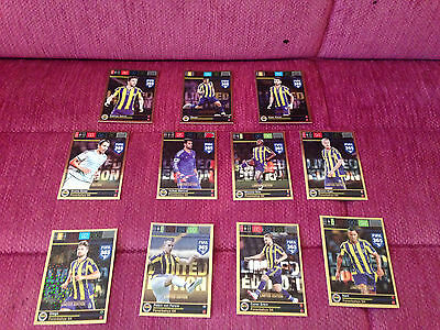Panini Adrenalyn XL FIFA 365 Limited Edition 11 X Fenerbahce Complete