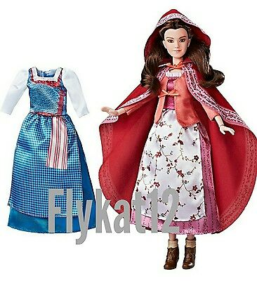 Disney Live Action Beauty and Beast Belle Fashion Red Cape Doll Target Exclusive