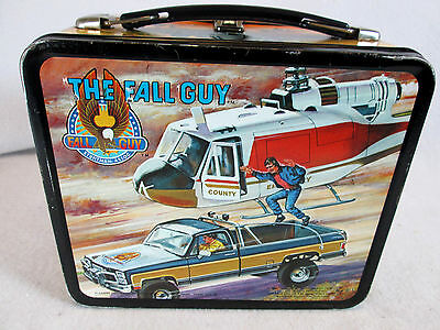 Vintage 1981 The Fall Guy metal lunch box by Aladdin