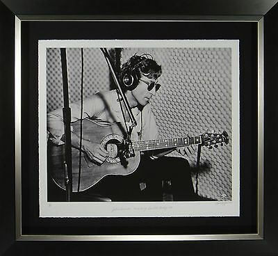 John Lennon Original Fine Art Giclee Framed Display