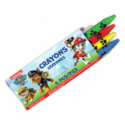 PAW PATROL CRAYONS (Pack of 12) Childrens Party Treat Party Bag Filler