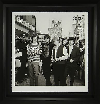 The Rolling Stones Original Photograph Framed Display