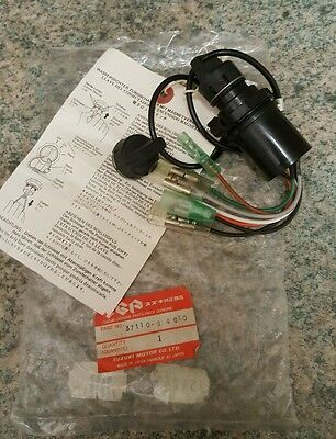 suzuki outboard magnetic type ignition switch with 2 keys p/n 37110-94610 new