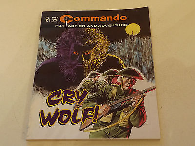 Commando War Comic Number 4058!!,2007 Issue,good For Age,10 Years Old,v Rare.