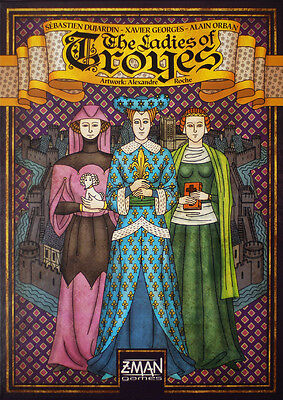 The Ladies of Troyes - Factory SEALED - Brand New Board Game