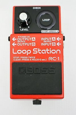 Boss RC-1 RC1 Loop Station Pedal Music