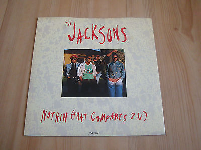 """The Jacksons-Nothin [That Compares 2 U] (Epic 7"""")"""